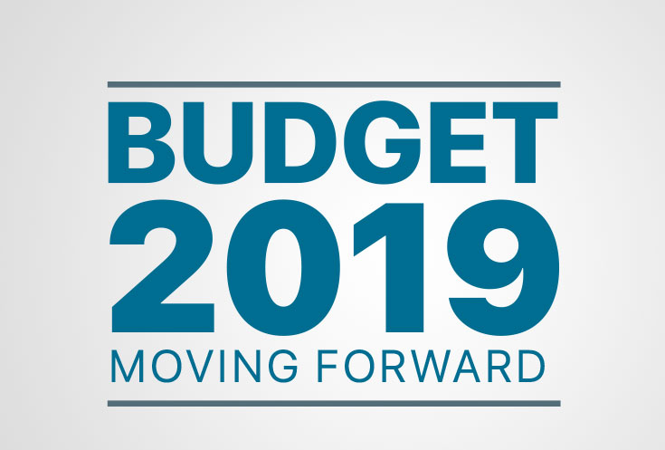 Moving Forward - 2019 Budget
