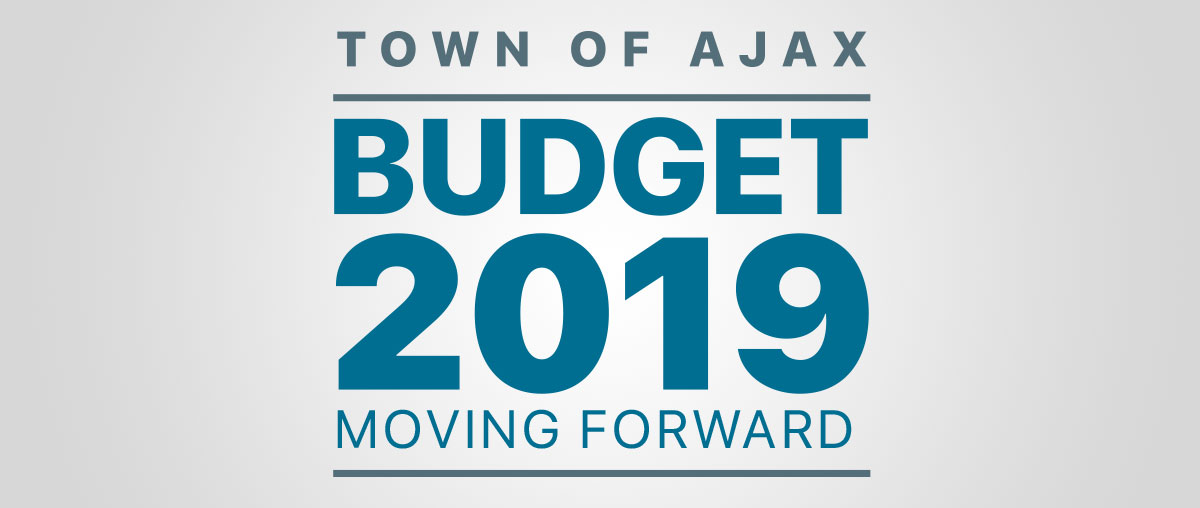 2019 Budget Moving Forward Starts Now logo