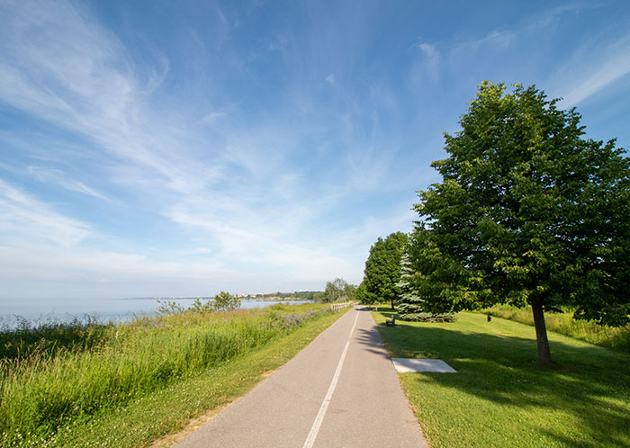 Ajax bike trail