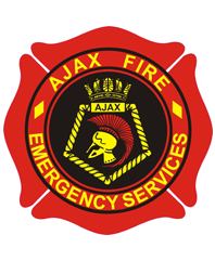 Ajax Fire and Emergency Services logo