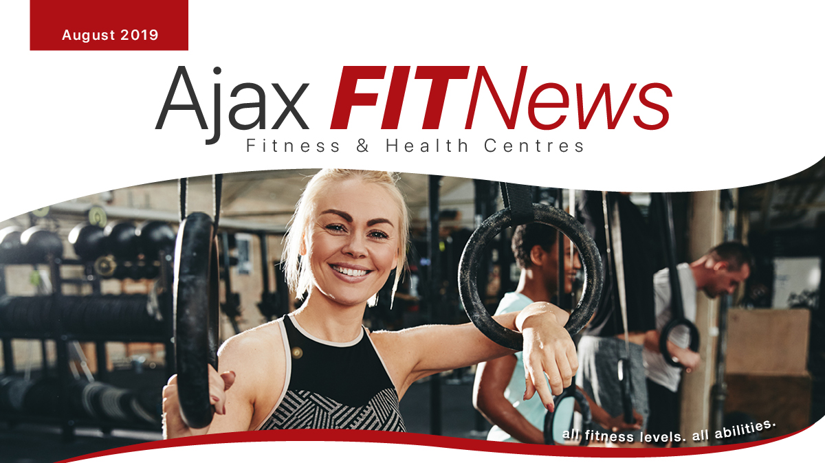 August Fit News Front Cover
