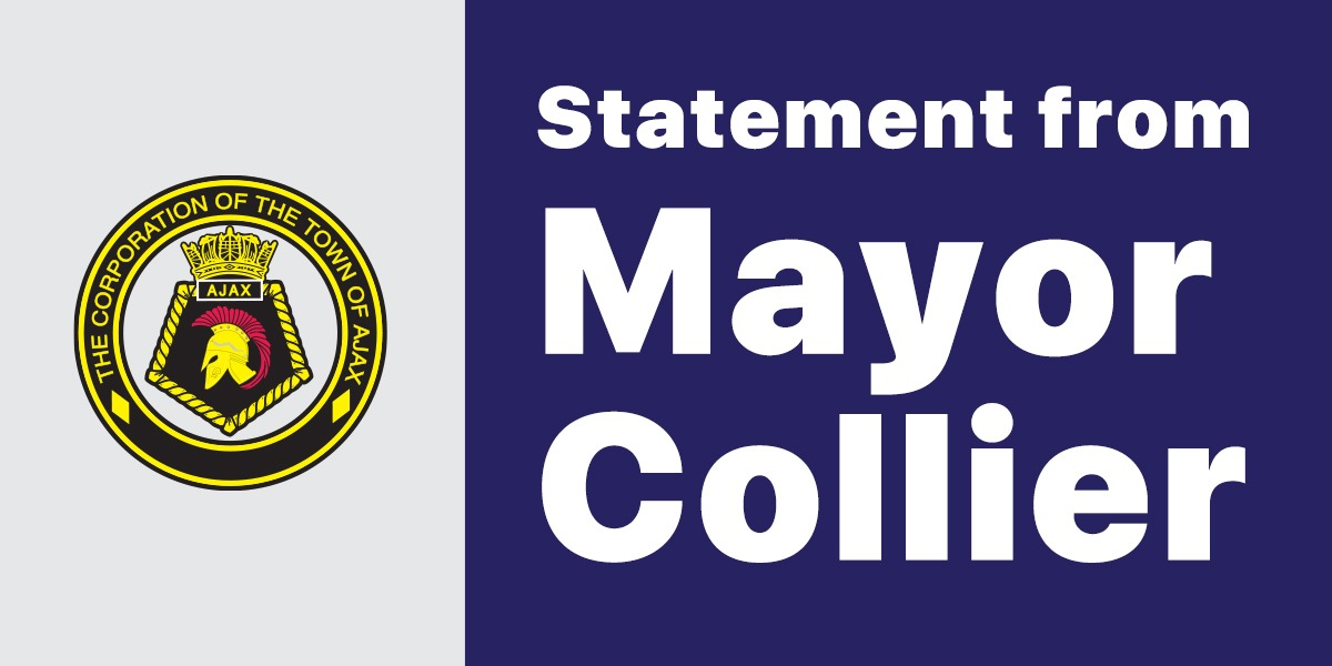 Statement from Mayor Collier