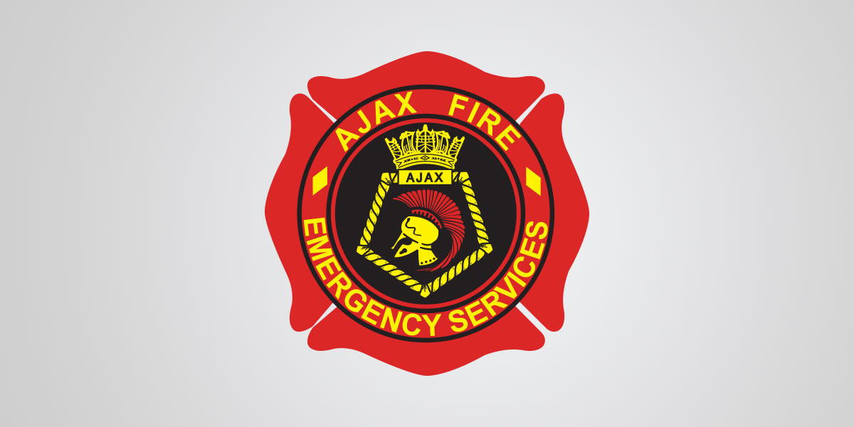 Ajax Fire Logo