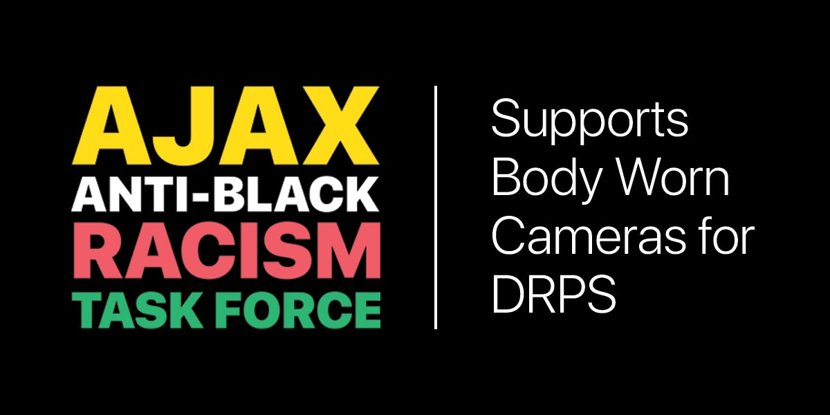Ajax Anti-Black Racism Task Force endorses body worn cameras