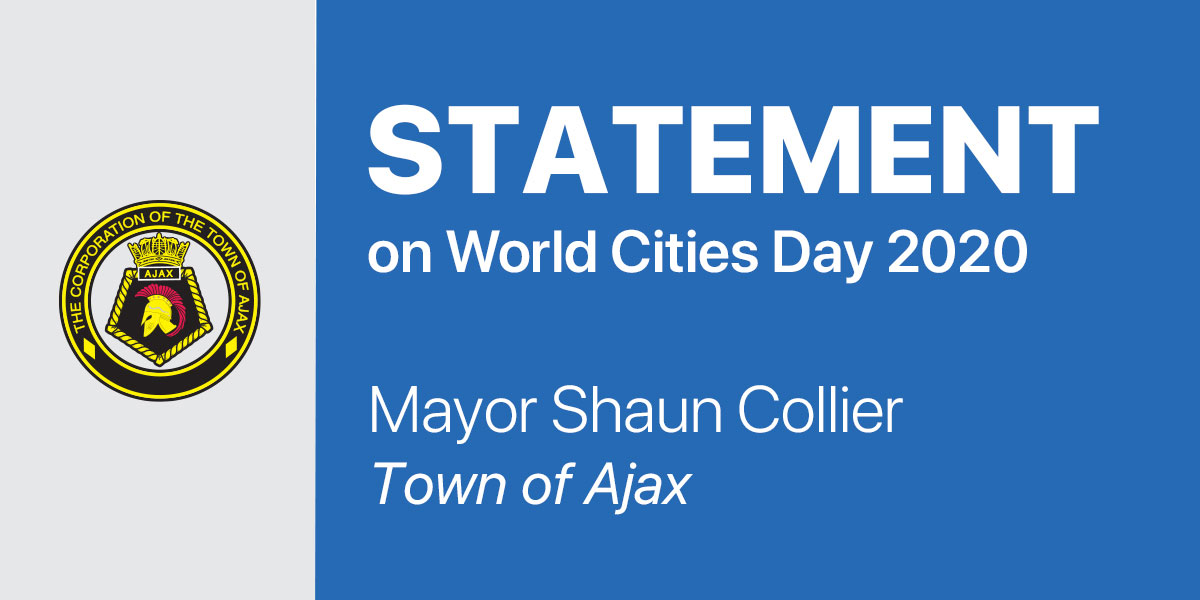 Statement from Mayor Collier on World Cities Day 2020
