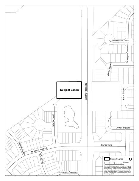 Site Plan Application SP16/13 Summit Telecom Services 1748 Westney Road North
