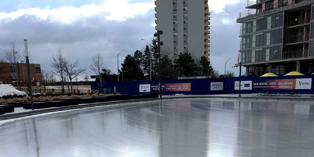 Pat Bayly Square Ice Rink